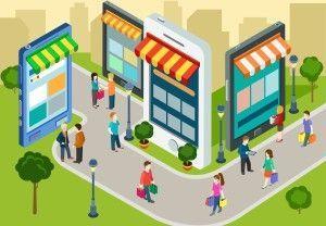 Flere og flere tenker web til butikk.